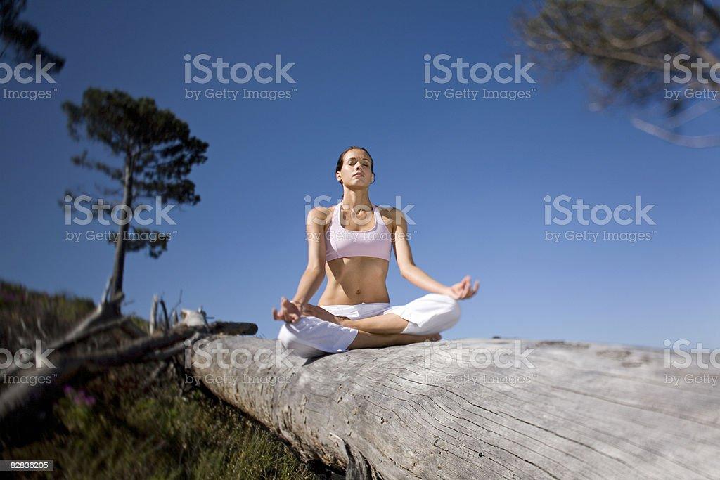 Yoga zbiór zdjęć royalty-free
