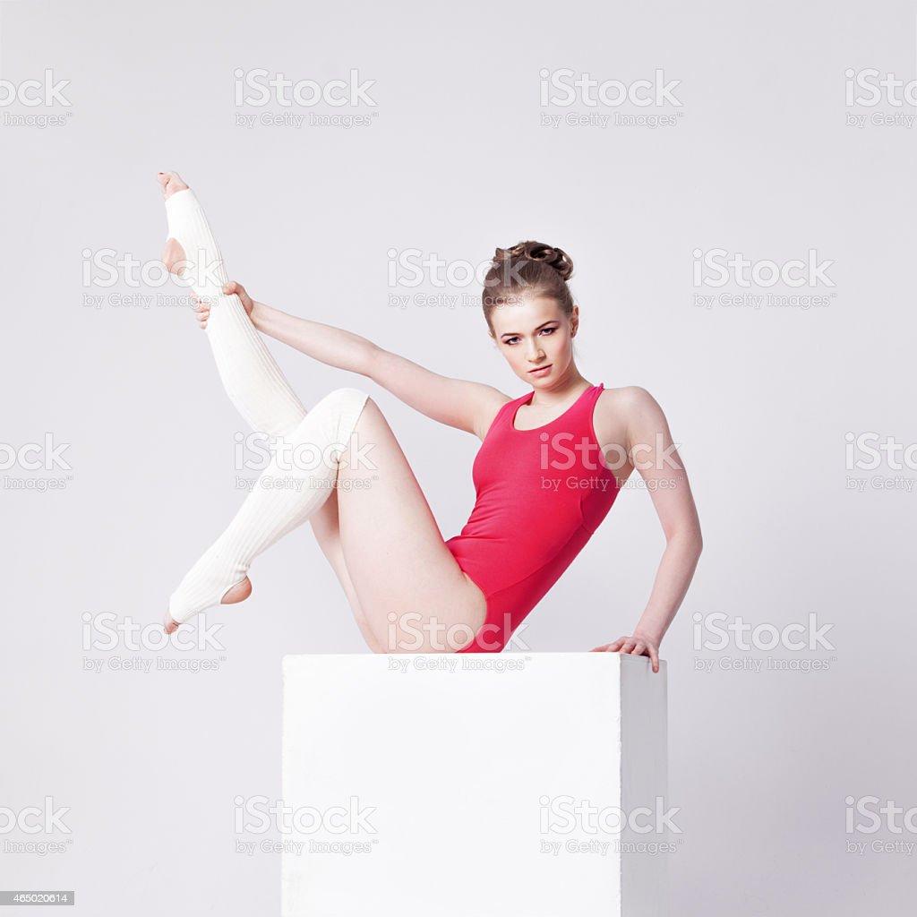 Yoga Poses Stock Photo