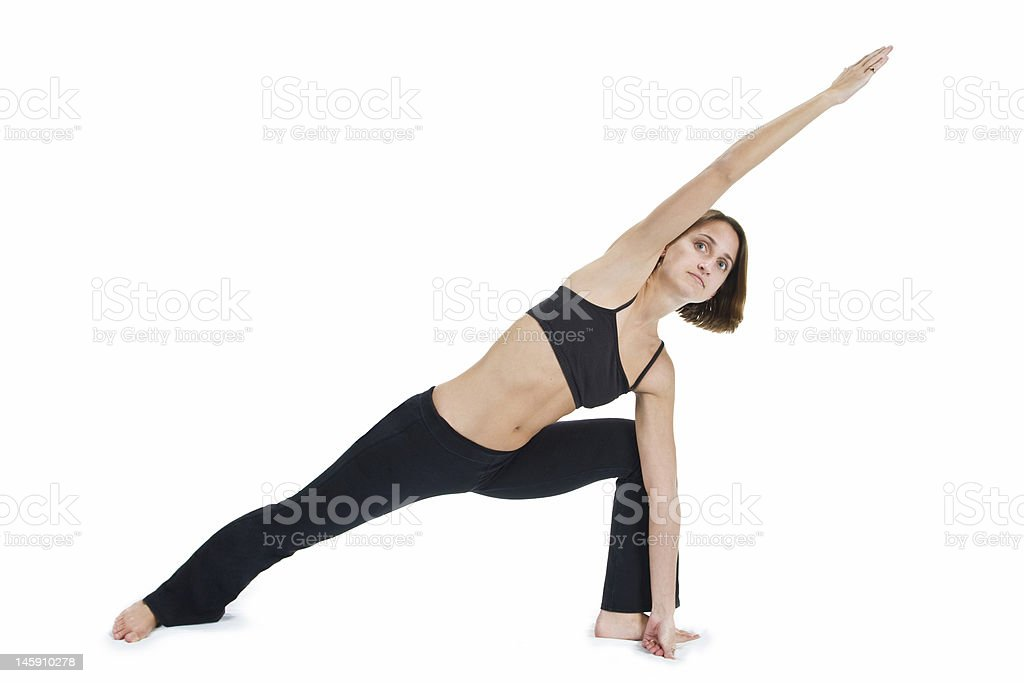 Yoga Series royalty-free stock photo