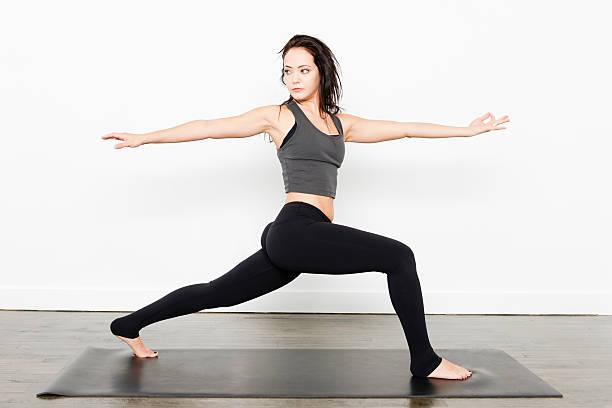 Yoga Series stock photo