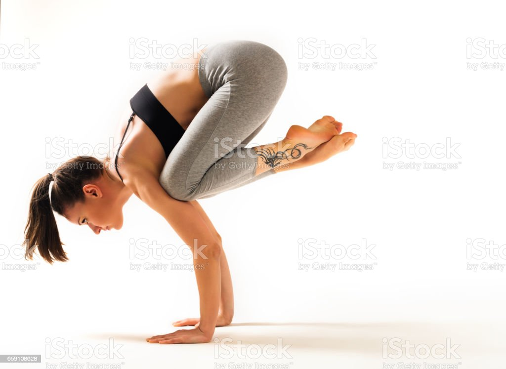 Yoga-Stretching – Foto