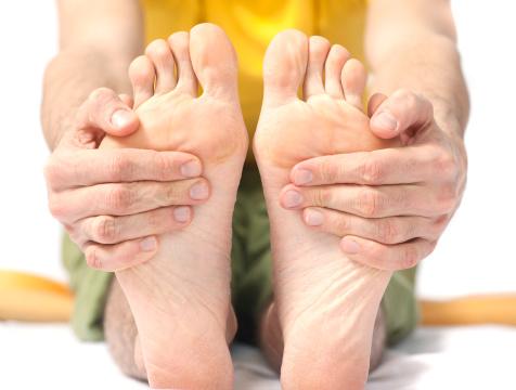 close-up of a yoga motionclose-up of a yoga motion