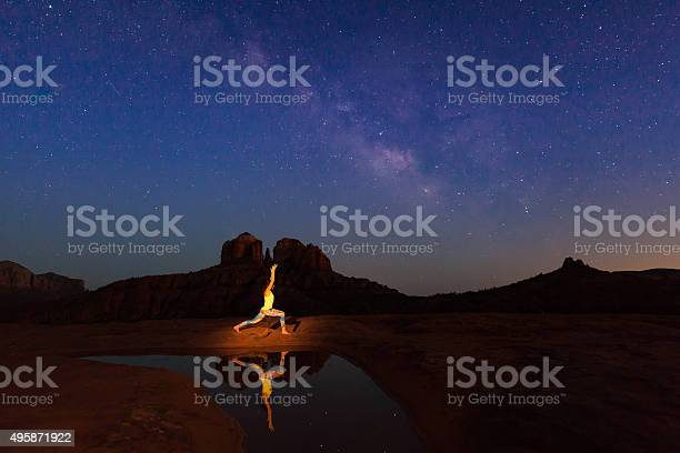 Photo of Yoga Under the Milky Way