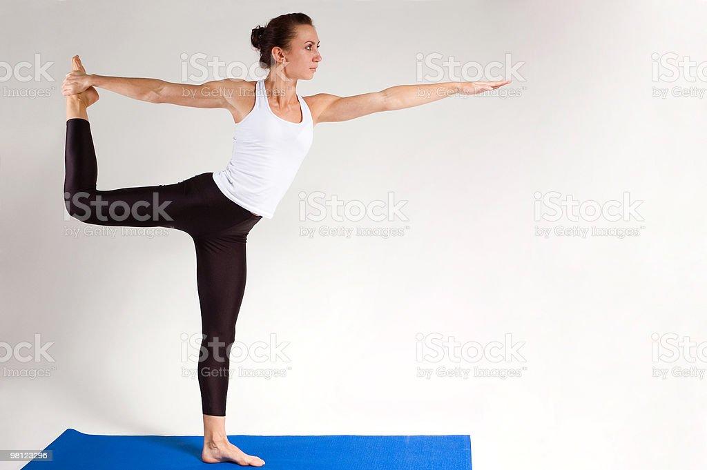 yogi ragazza foto stock royalty-free