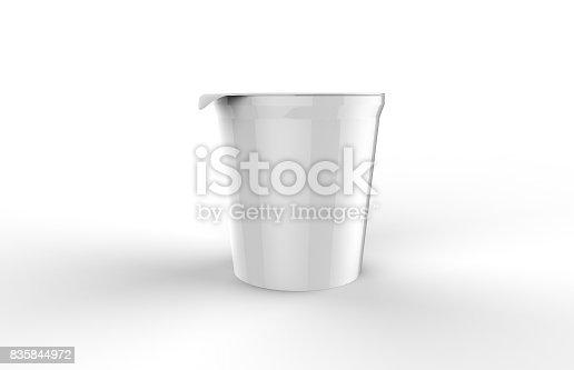 istock Yogurt And Ice Cream Tub 835844972