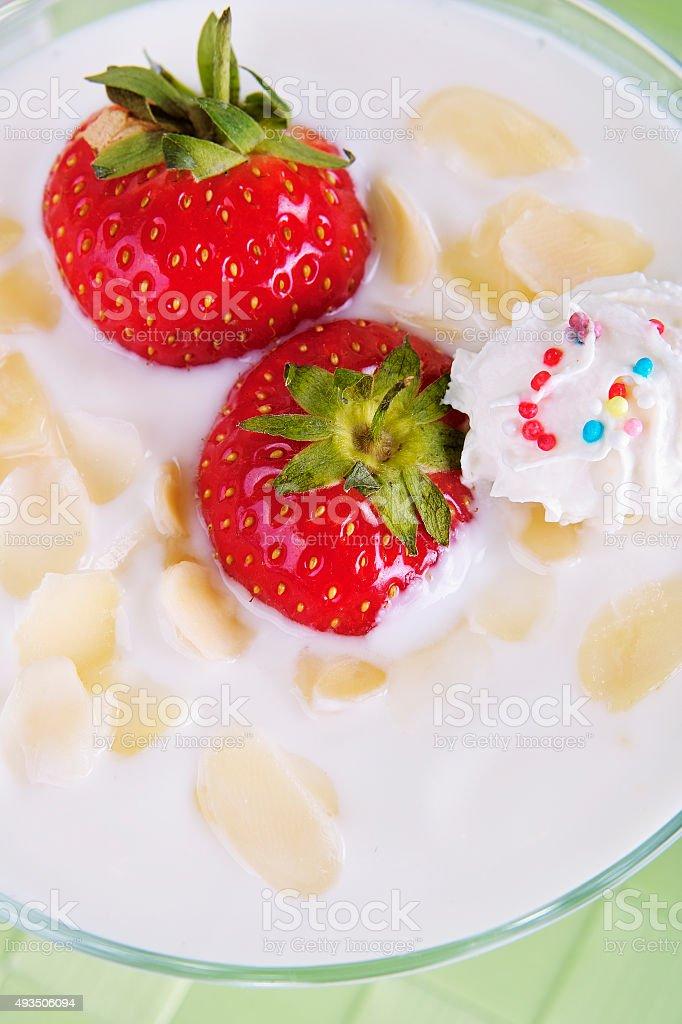 Yogurt Dessert stock photo