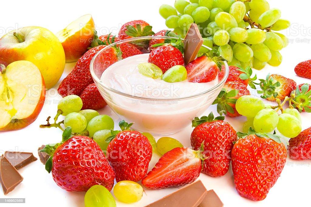 Yogurt royalty-free stock photo