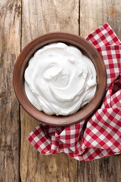 yogurt yogurt sour cream stock pictures, royalty-free photos & images