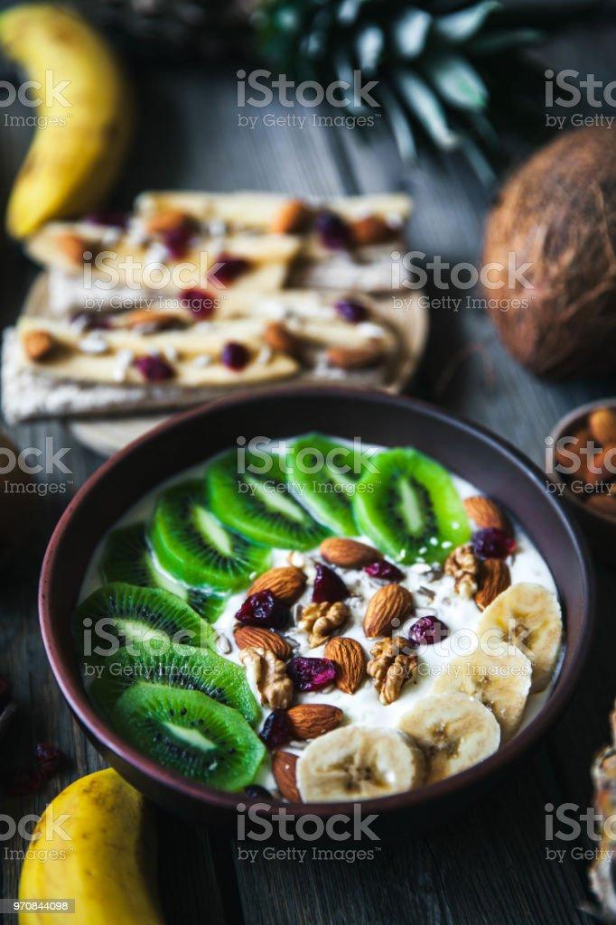 dieta de yogur y frutas
