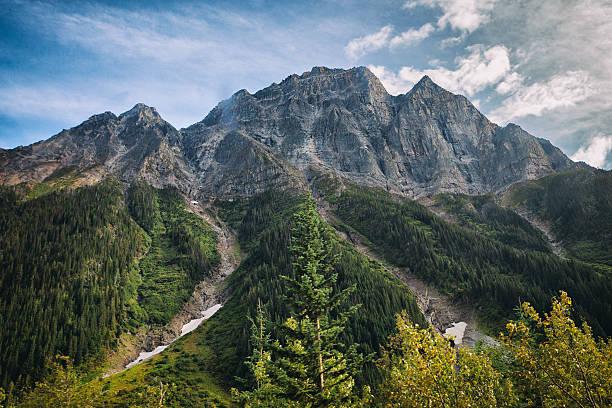 Yoho National Park in British Columbia, Canada stock photo