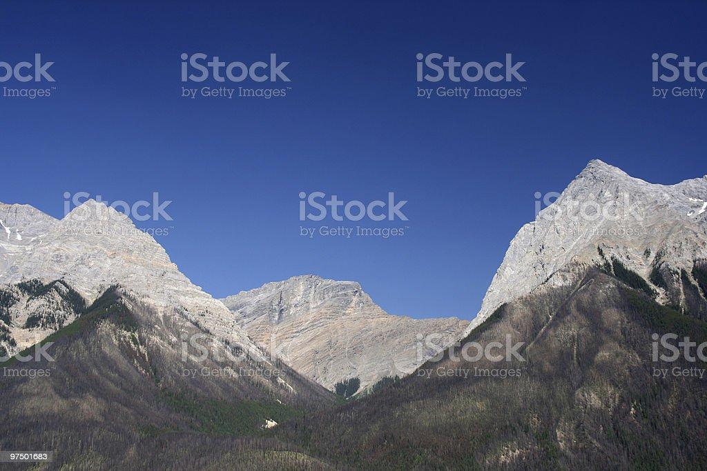Yoho National Park royalty-free stock photo