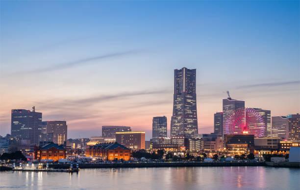yokohama bayside city view - prefektura kanagawa zdjęcia i obrazy z banku zdjęć