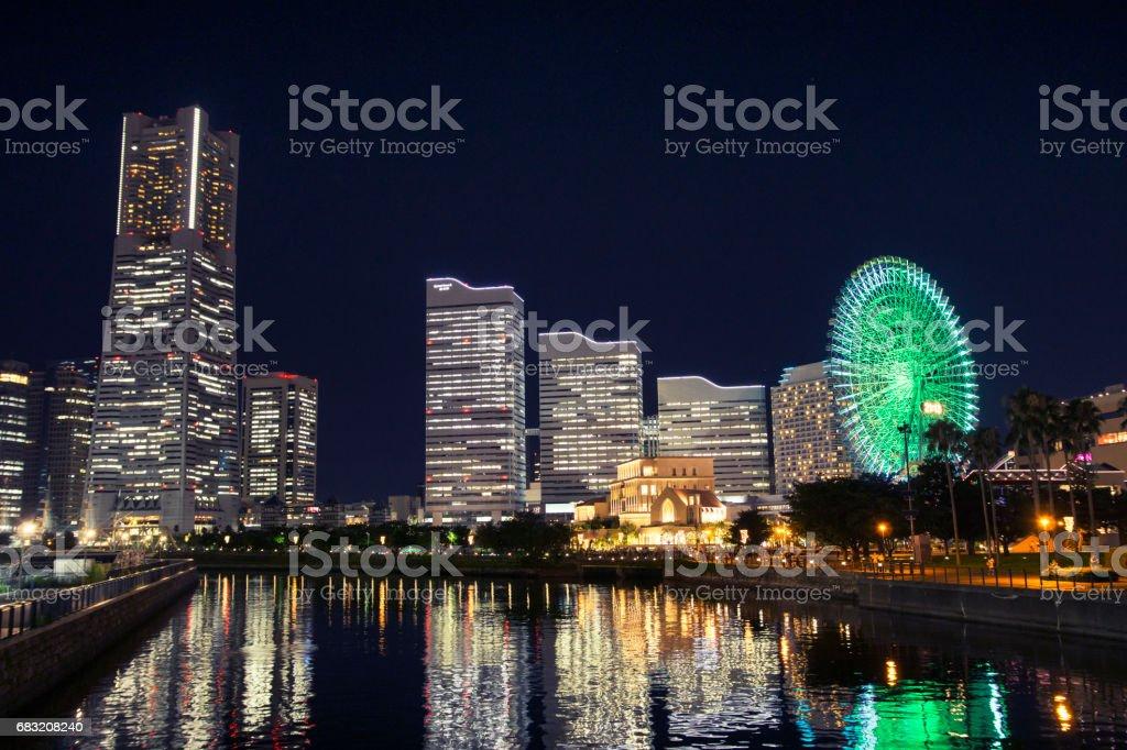 Yokohama city 免版稅 stock photo