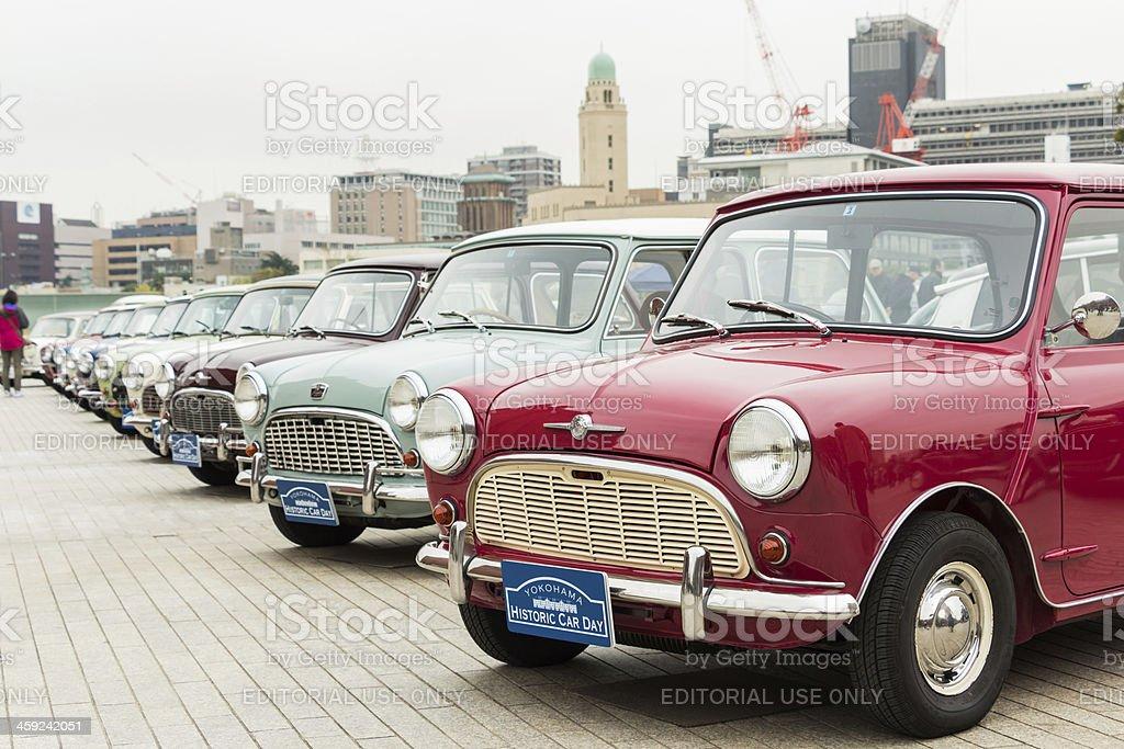 Yokohama Historic Car Day 2013 stock photo