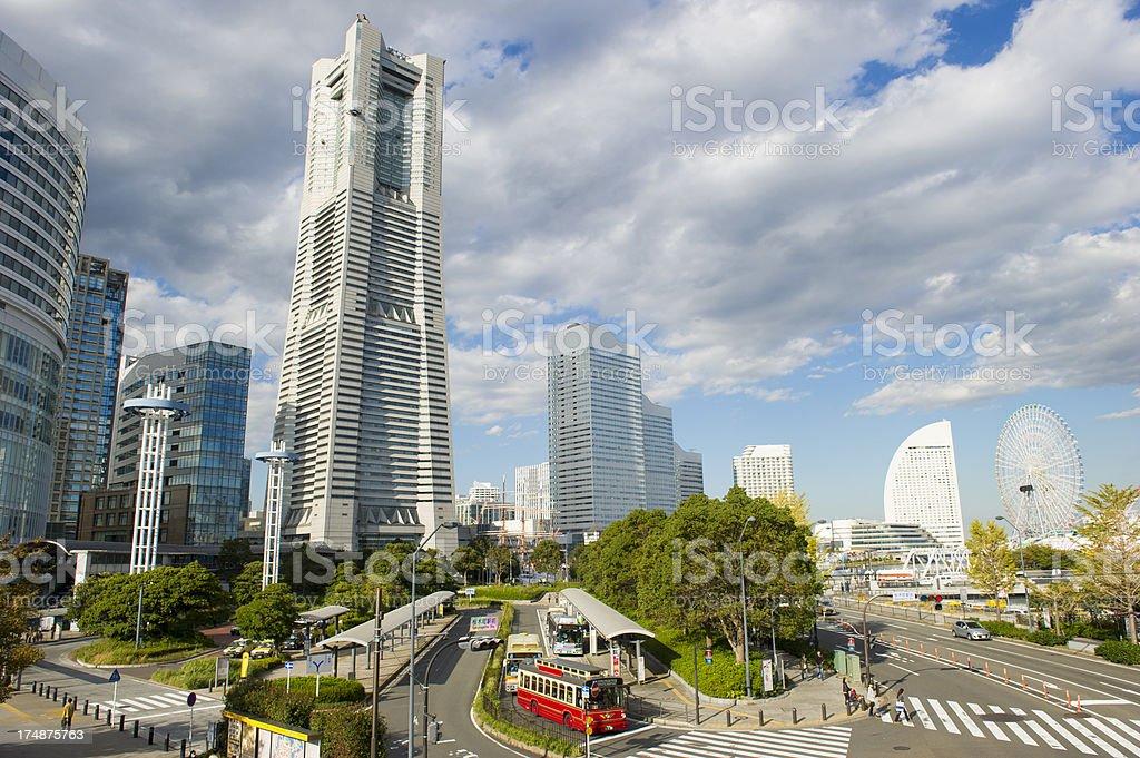 Yokohama Japan royalty-free stock photo