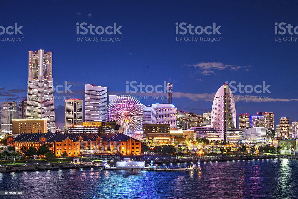 Yokohama Japan stock photo