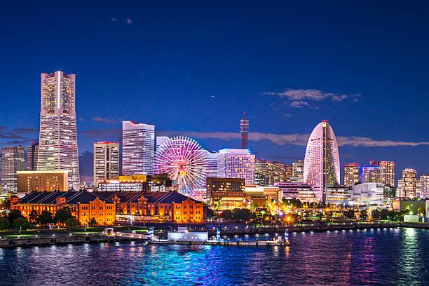요코하마 일본 - 가나가와 뉴스 사진 이미지
