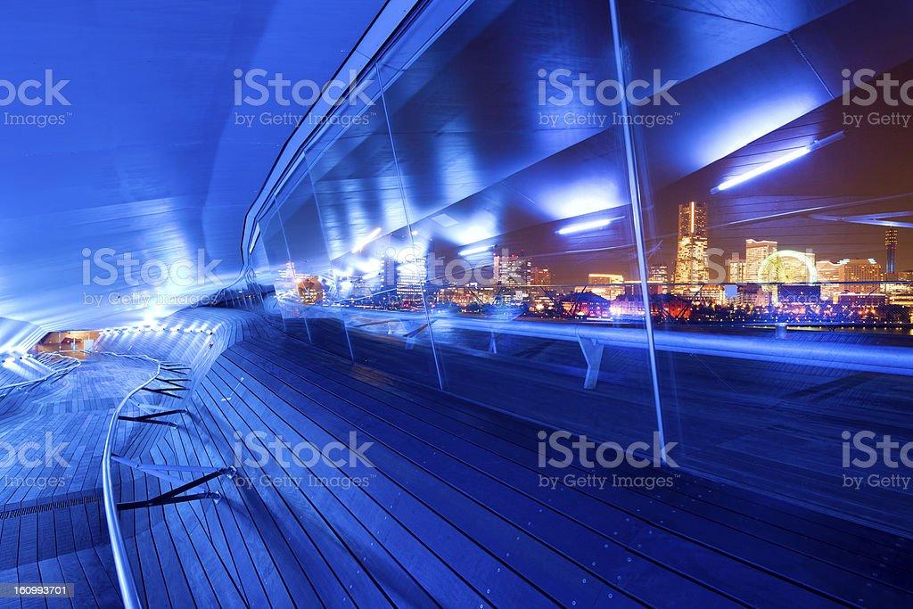 Yokohama Skyline stock photo