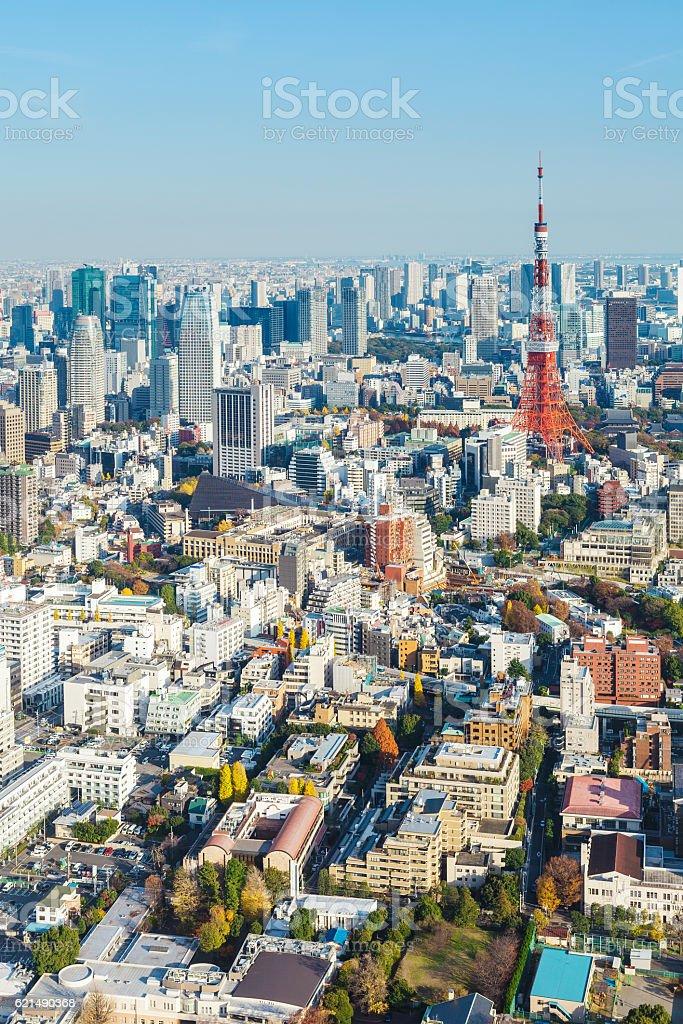 La ville de Yokohama  photo libre de droits