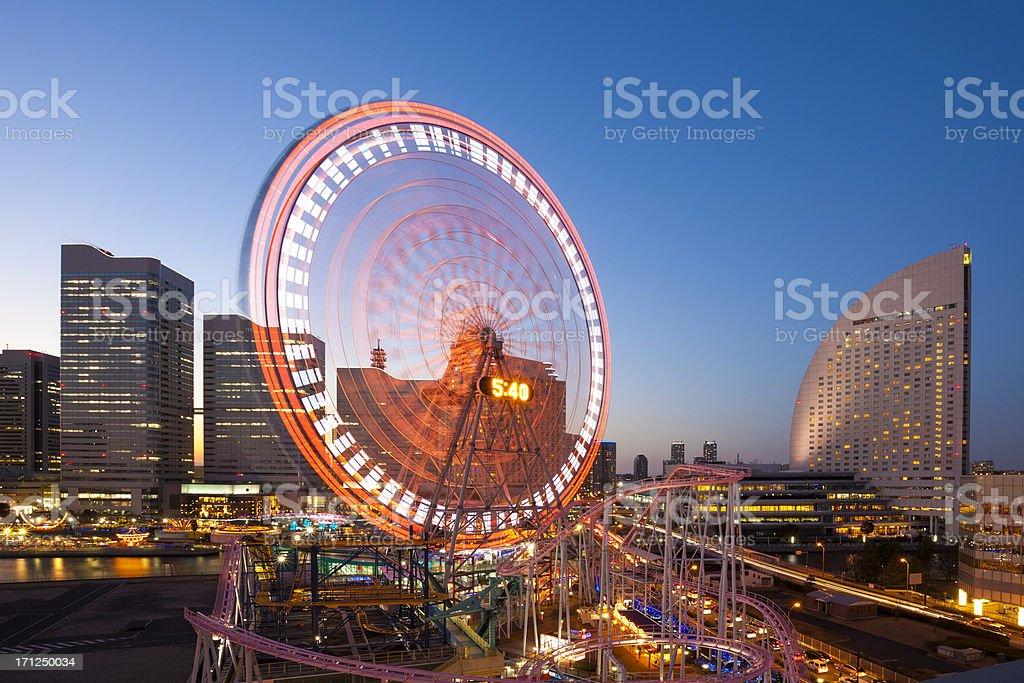 Yokohama Waterfront, Japan royalty-free stock photo