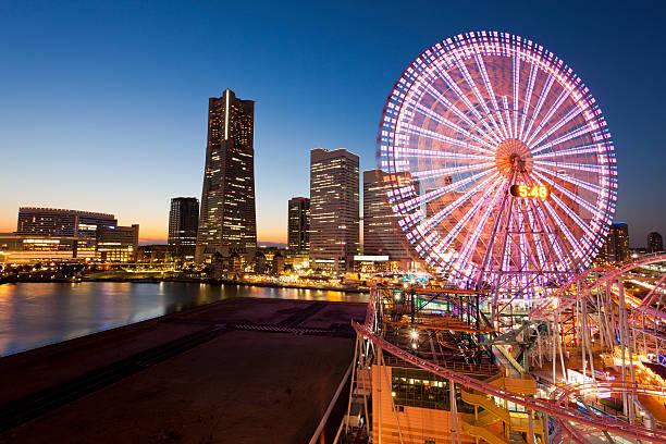 Yokohama Waterfront, Japan stock photo
