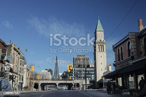 istock Yonge Street in Toronto's  Summerhill Neighbourhood 1288867597