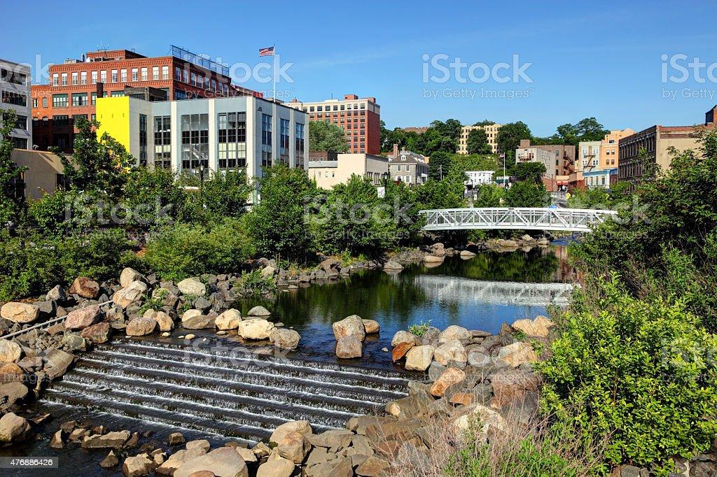 Yonkers New York stock photo