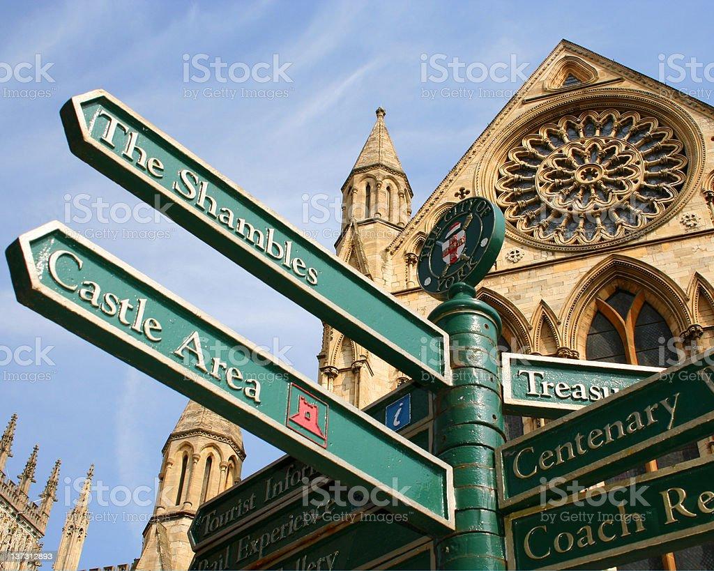 York city attractions stock photo