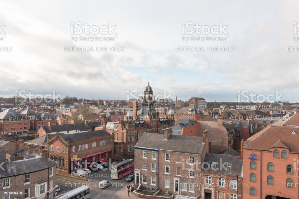 York Cityscape stock photo