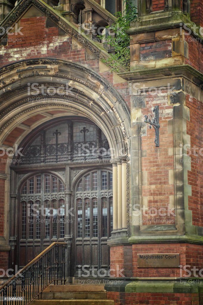 York Magistrates Court stock photo