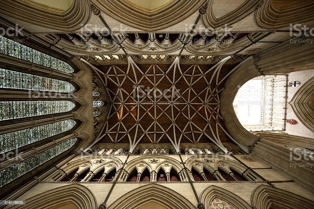 York Minster Interior stock photo