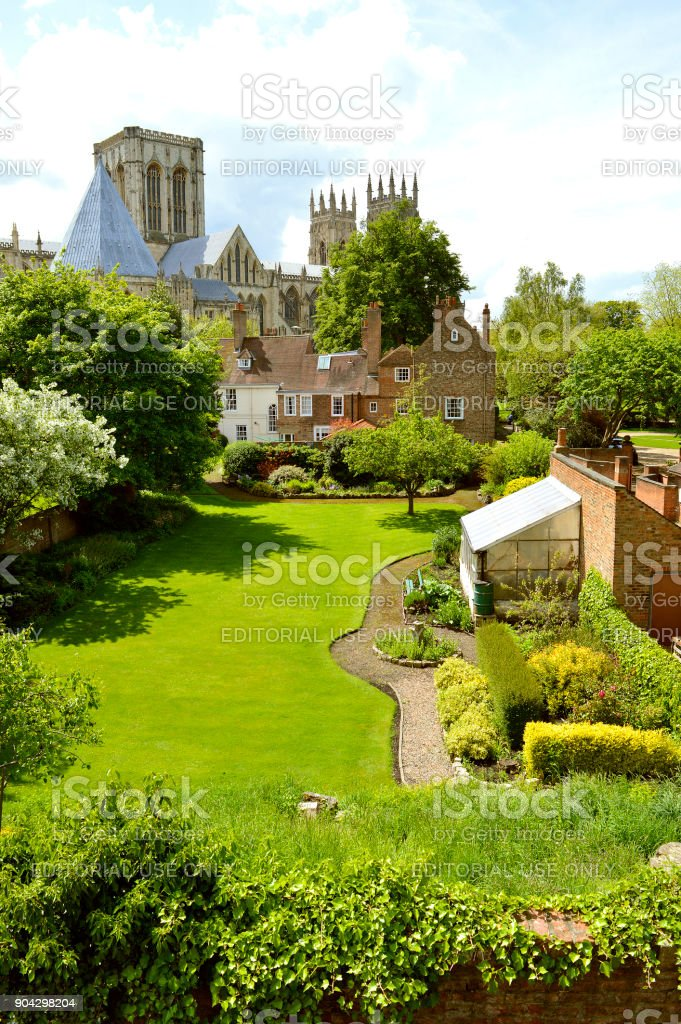 York Minster the cathedral of York stock photo