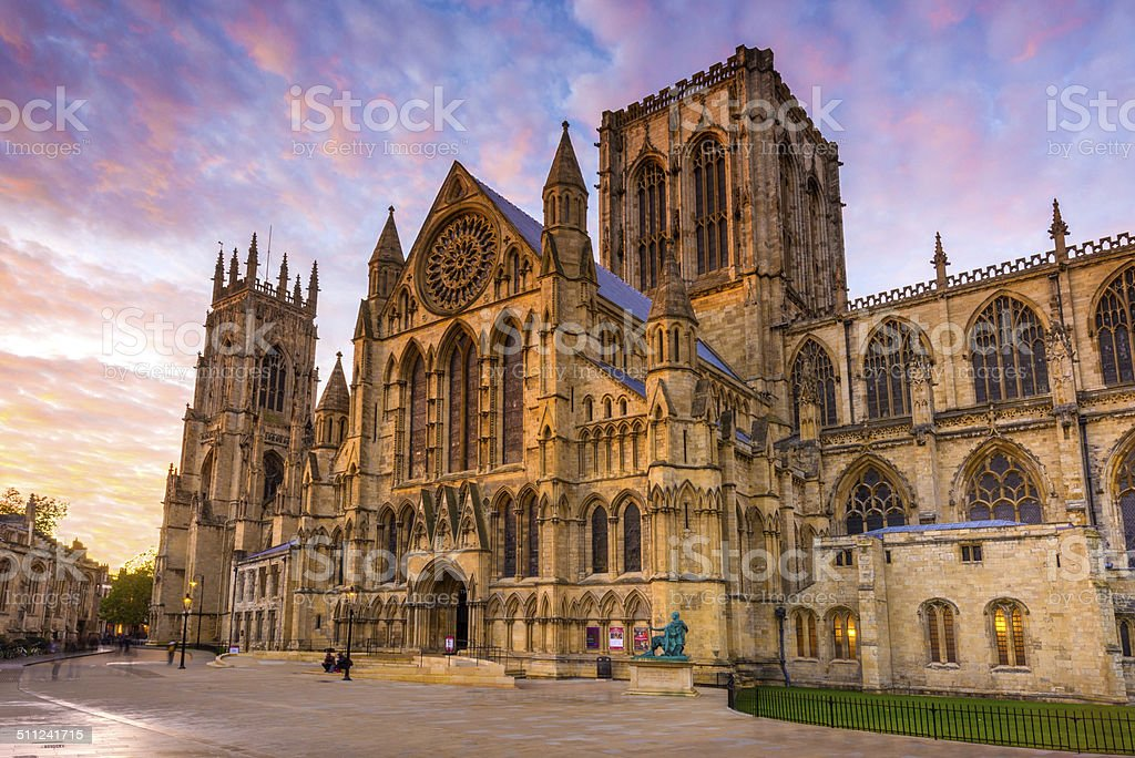 York Minster, York, England, UK stock photo