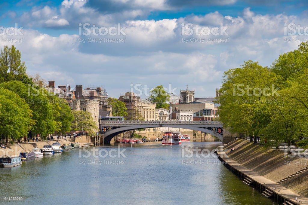 York, UK stock photo