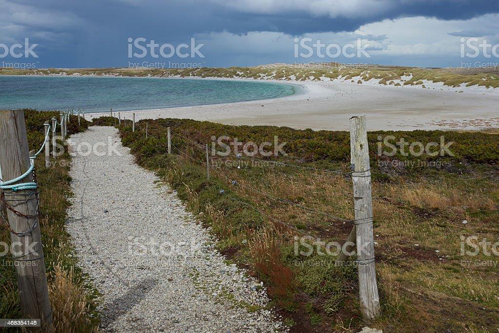 Yorke Bay royalty-free stock photo