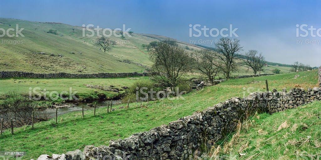 Yorkshire Dales 1999 stock photo