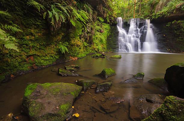 Yorkshire Dales - Goit Stock Waterfall stock photo