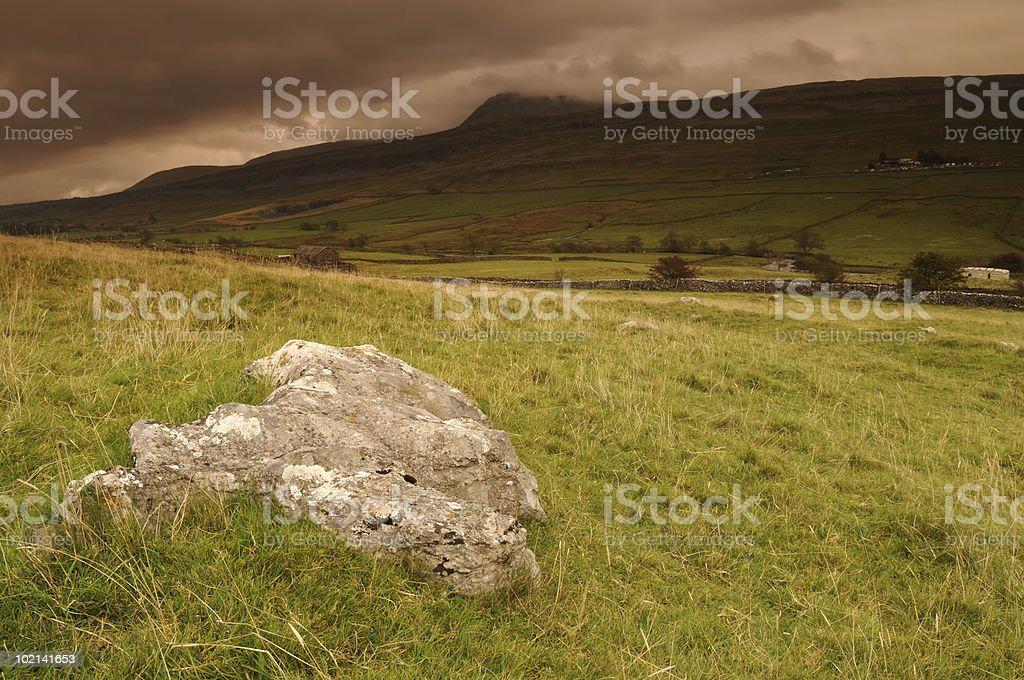 Yorkshire Dales Landscape stock photo