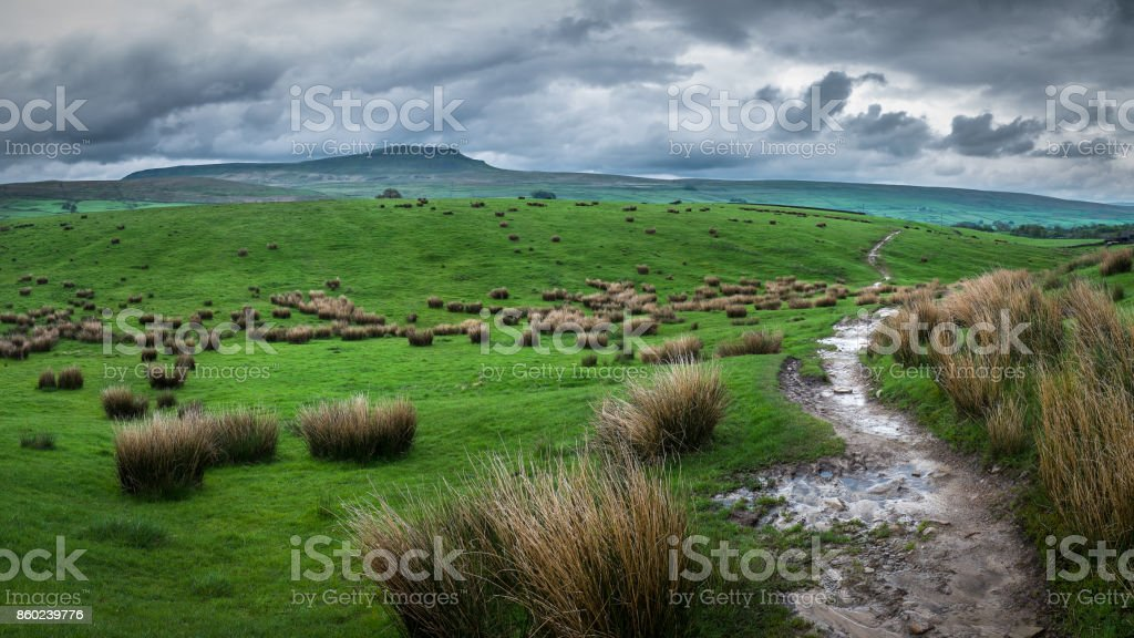 Yorkshire Dales National Park, England stock photo