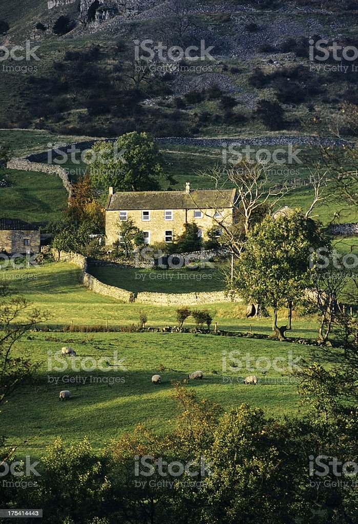 yorkshire dales royalty-free stock photo