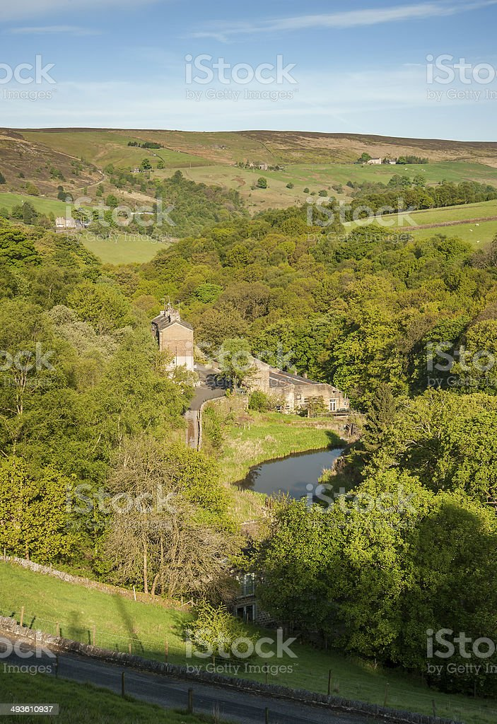 Yorkshire Landscape royalty-free stock photo