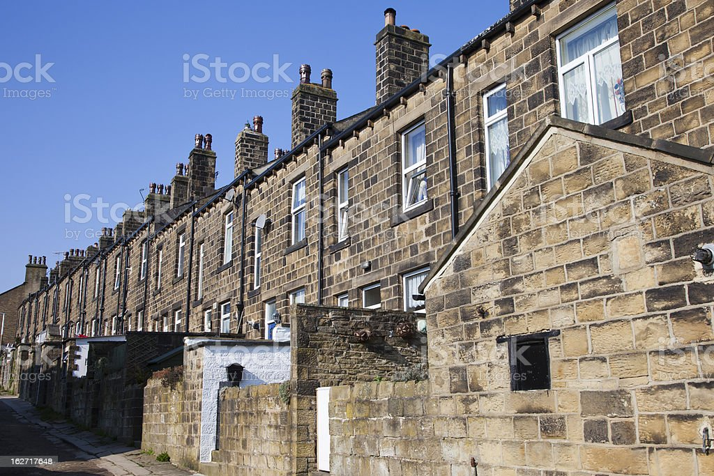 Yorkshire Terrace royalty-free stock photo