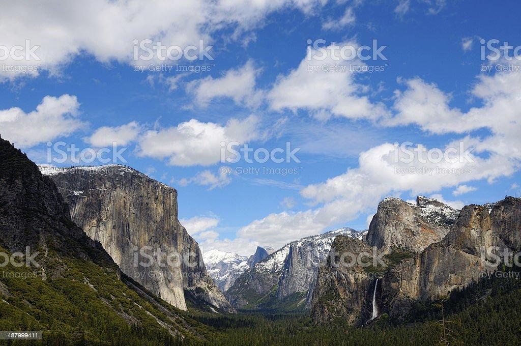 Yosemite Cloudscape royalty-free stock photo