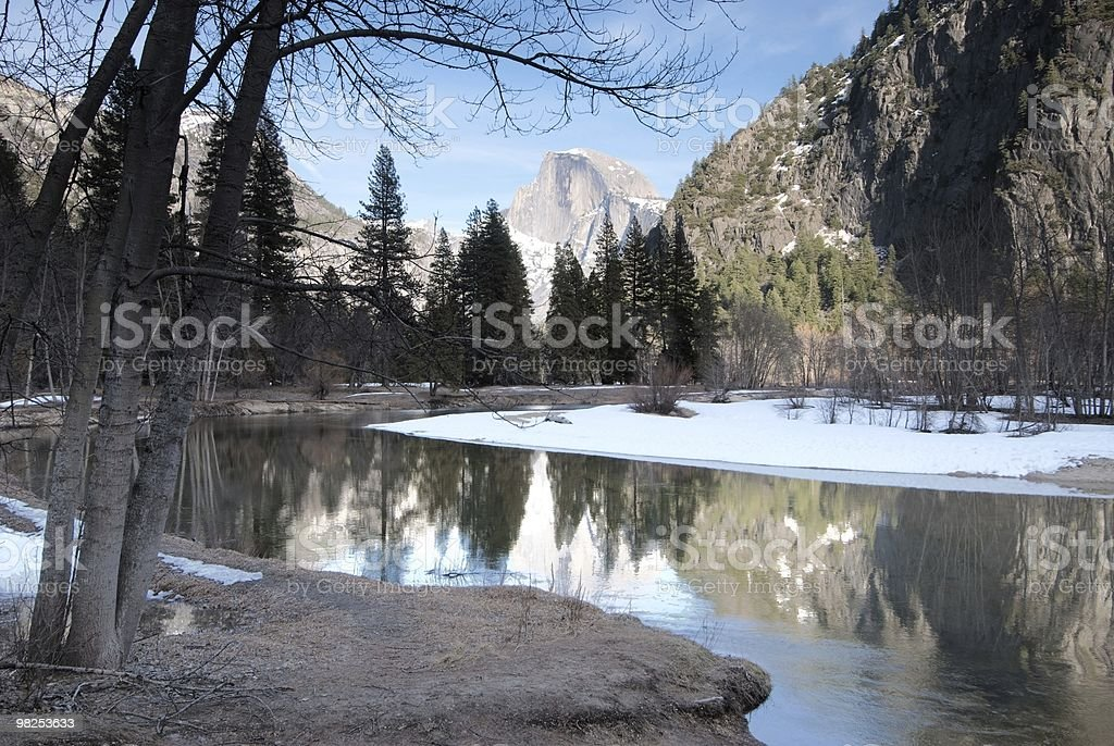Yosemite,  Early Spring royalty-free stock photo