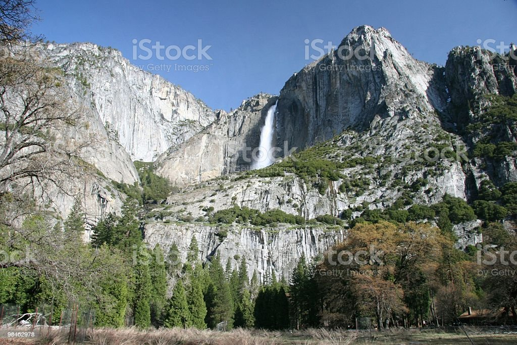 Yosemite Fall royalty-free stock photo