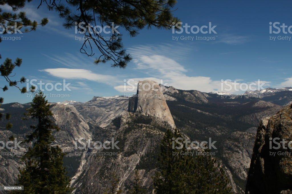 Yosemite Half Dome stock photo