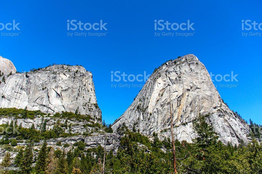Yosemite Mountain stock photo