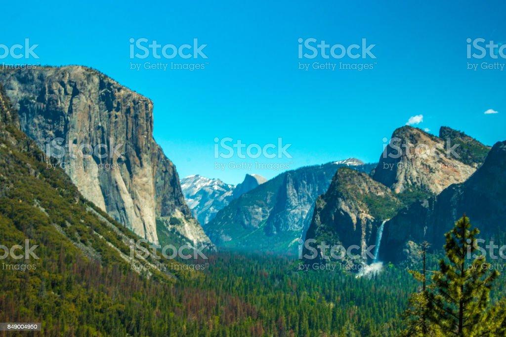 Yosemite National Park El Capitan stock photo