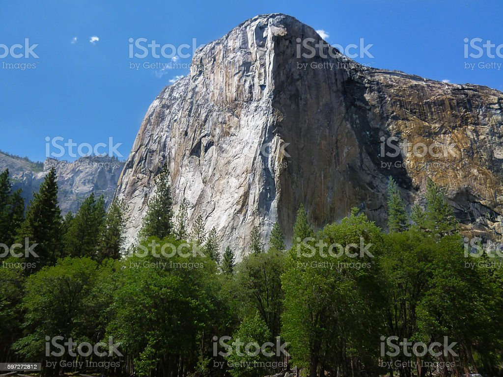 Yosemite National Park in California royalty-free stock photo