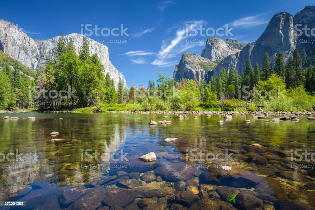 Yosemite National Park in summer, California, USA – Foto